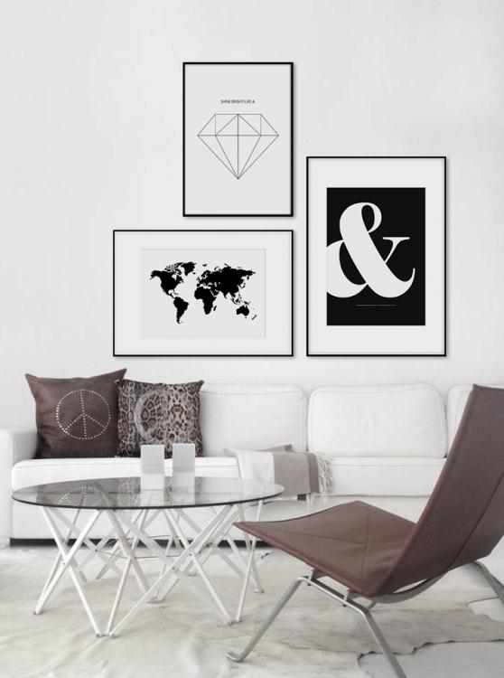 Posters och tavlor från Desenio | By Tessy